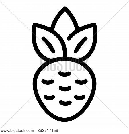 Beetroot Icon. Outline Beetroot Vector Icon For Web Design Isolated On White Background