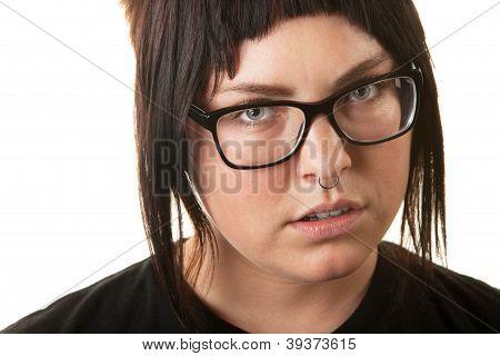 Verschärfte weibliche Teen