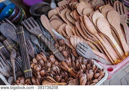 handmade wooden kitchen utensil tools market, Asia