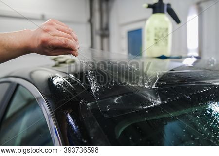 Armoring With Film Of Car Body Parts