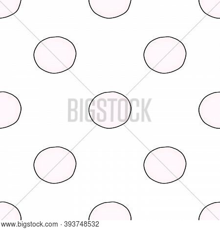 Illustration On Theme Bright Pattern Black Radish, Vegetable Root For Seal. Vegetable Pattern Consis