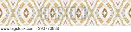 Aztec Rugs. Pastel Brown, Pink Blue Seamless Texture. Abstract Shibori Print. Seamless Tie Dye Rappo