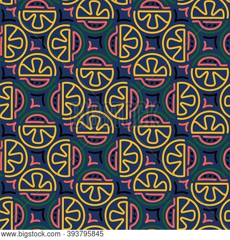 Fashion Design Vector Seamless Pattern For Shirt, Panties, Tank Top Or Swimsuit, Underwear, Bedding,