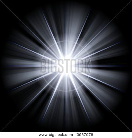 Irregular White Star 3
