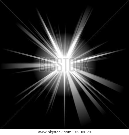 Irregular White Star 2