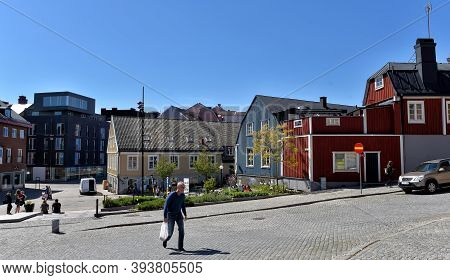 Karlskrona, Sweden  13,05,2016 City Center. Karlskrona Is The Capital City Of Province Blekinge, Bui