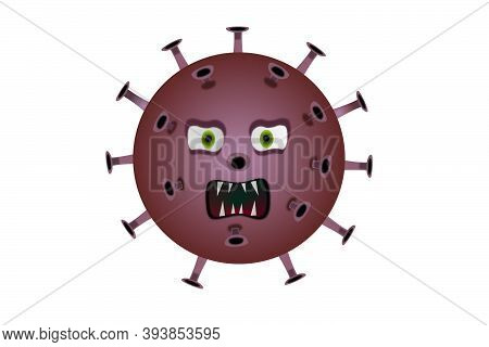 Agrressive Covid - Pulp Coronavirus With Sharp Teeth