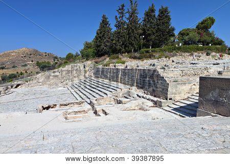 Festos antigua, Isla de Creta, Grecia