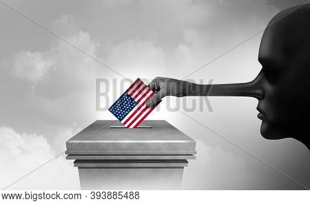 Us Election Fraud And American Vote Rigging Or Electoral Crime With Illegal Ballots And Criminal Vot