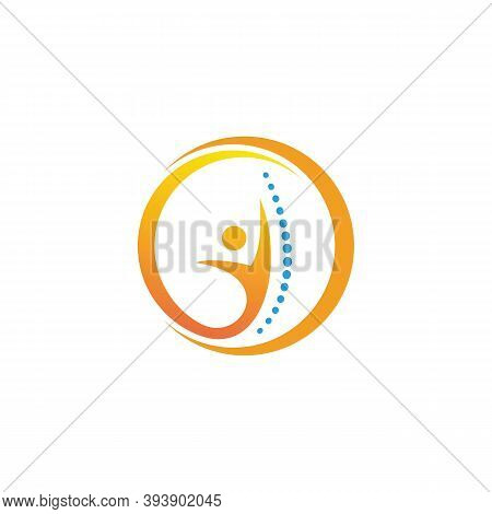 Design Inspirations Chiropractic Logo Icon Symbol Design Template