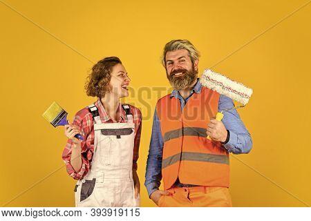 Interior Renovation. Decorating Apartment. Pick Color. Diy Repair. Construction Workers. Home Renova