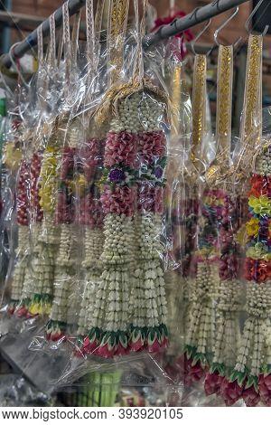 Thailand, Bangkok 18,07,2019 Flower Market Name