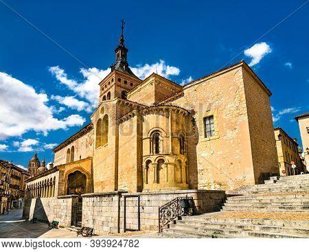 San Martin Church In Segovia - Castile And Leon, Spain