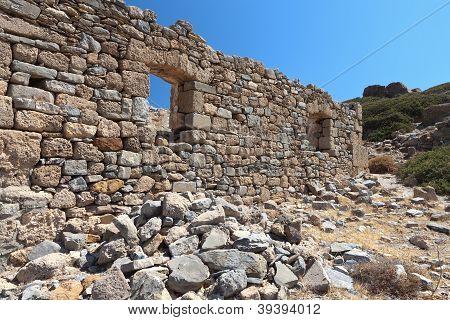 Ancient Itanos at Crete island, Greece