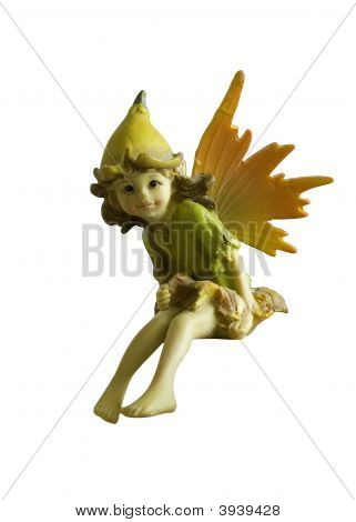 Isolated Sitting Fairy