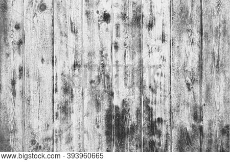 Wood Texture Background, Wooden Board Grains, Old Striped Board Surface.