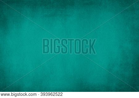 Blank Tiffany Blue Color Paper Texture Background, Tiffany Blue Paper Surface For Art And Design Bac