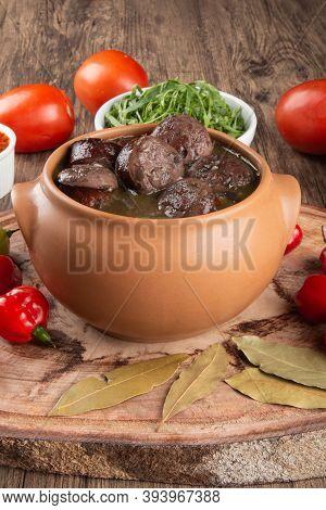 Brazilian Feijoada. Traditional Brazilian Food. Brazilian Cuisine .