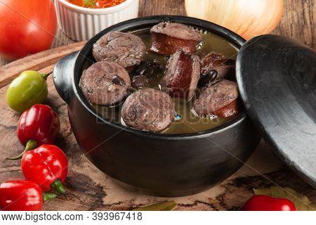 Brazilian Feijoada. Traditional Brazilian Food. Brazilian Cuisine.