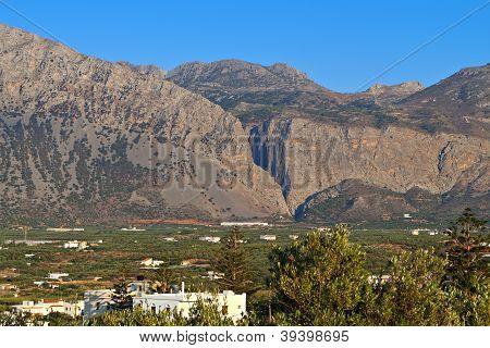 Xa gorge at Crete island in Greece poster