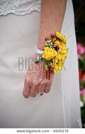 Woman Wrist Corsage