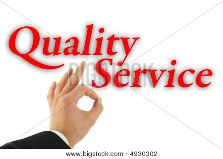 Quality Service Concept
