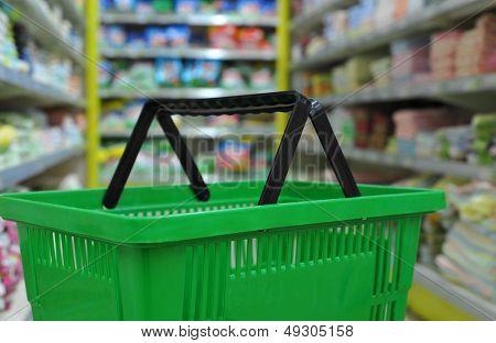 Mall shopping basket