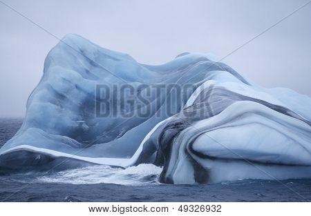 Antarctica Scotia Sea iceberg in water