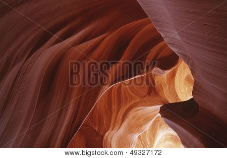 USA Arizona Antelope Canyon rock formation