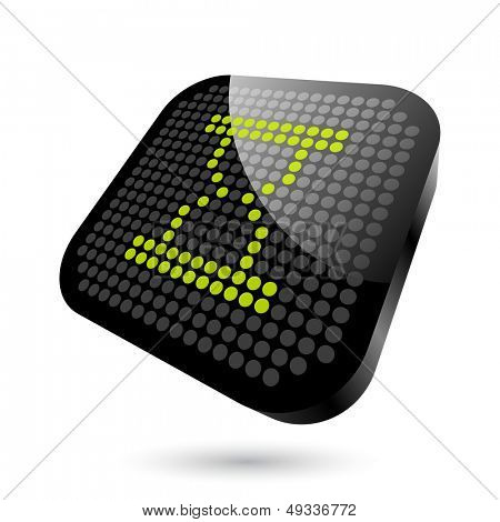 modern hourglass sign