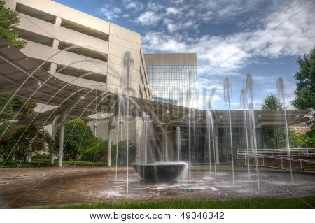 Hdr Water Fountain