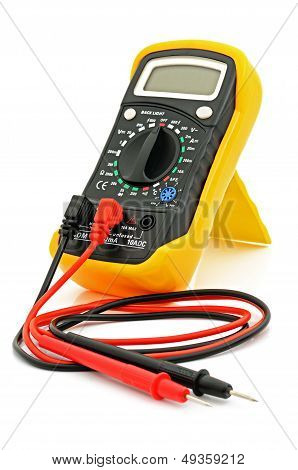 Multimeter With Cables