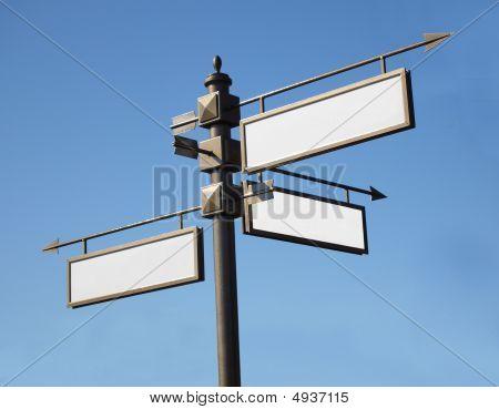 Arrows Road Signs