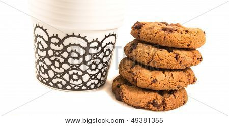 Cookie With Coffee