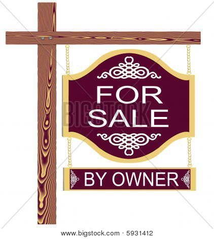 Fancy For Sale Sign By Owner