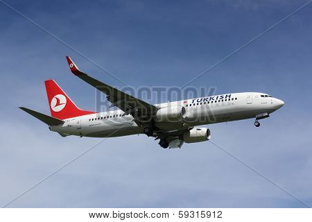 B737 Turkish Airlines