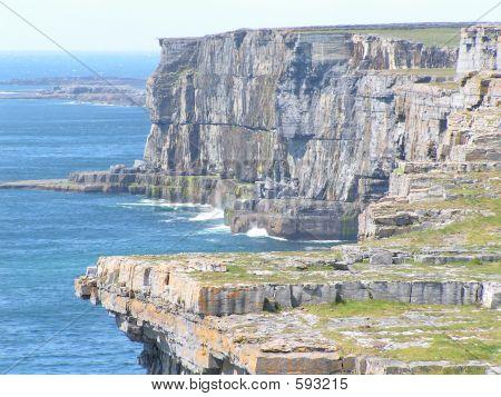 Dangerous  Overhanging Cliffs Inishmor