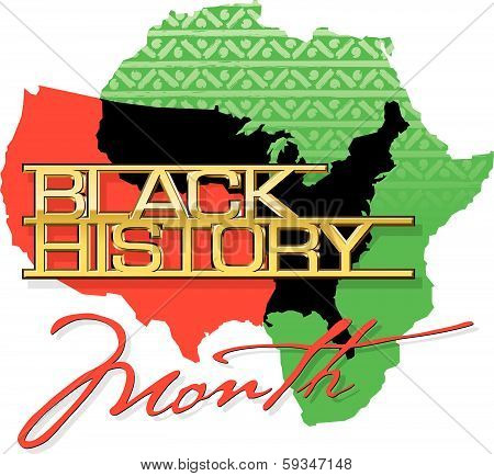 Black History Month Heading