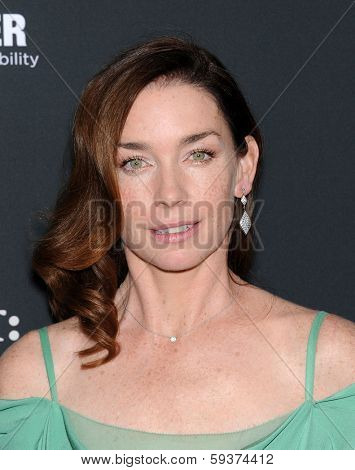 LOS ANGELES - DEC 16:  Julianne Nicholson arrives to the