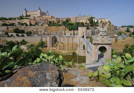 Toledo general view Spain