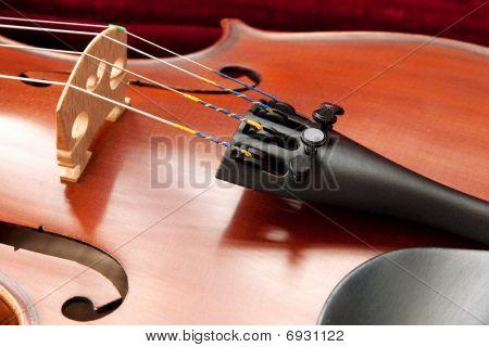 Vioin Bridge And Strings