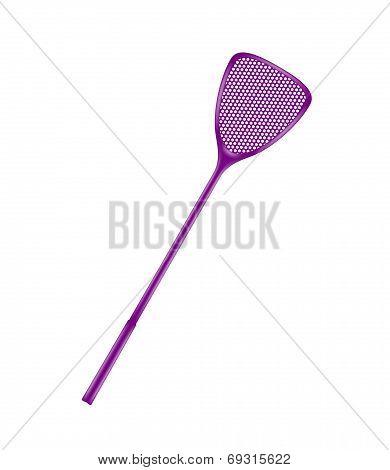 Purple flyswatter