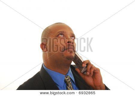 Talking On Telephone