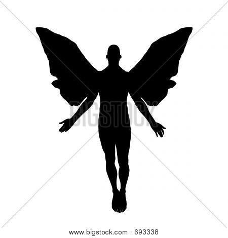 Angel Silhouette