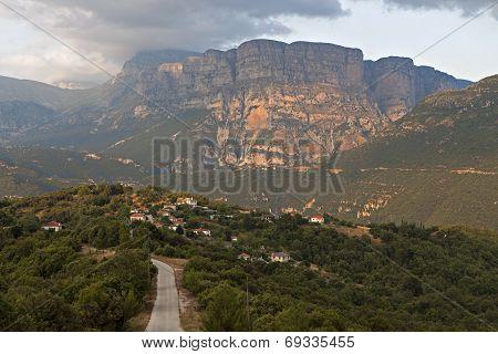 Zagora area at Pindos mountains, Greece