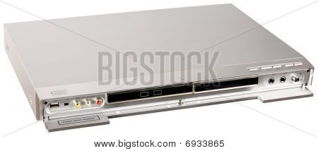 Dvd Player Isometric View