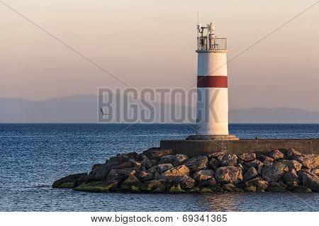 Lighthouse With Control Unit
