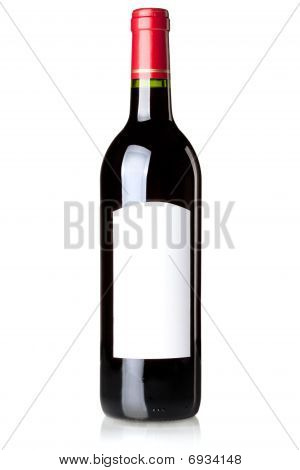 Wine Collection - Red Wine In Bottle