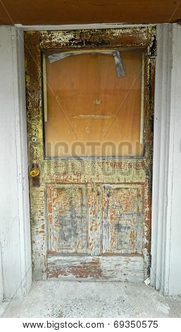 Weathered Entry Door