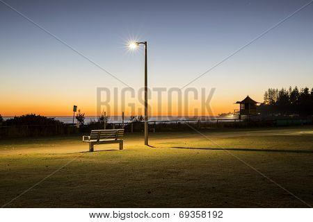 Sunrise at Coolangatta Gold Coast, Australia